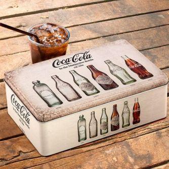 Retro plechová krabice Coca-Cola