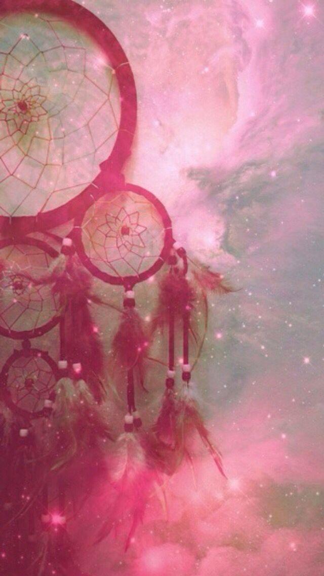 Cool wallpaper pink hipster dream catcher