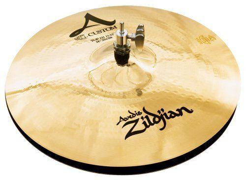 Zildjian A Custom 14-Inch Hi-Hat Cymbals, Brilliant by Zildjian. $342.99. NOTE: Cymbals are not returnable.