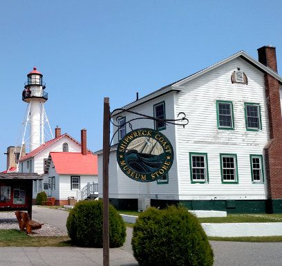 Paradise, Michigan: Great Lakes Shipwreck Museum - Features the bell from the wreck of the Edmund Fitzgerald, and relics from other ships that also never made it.