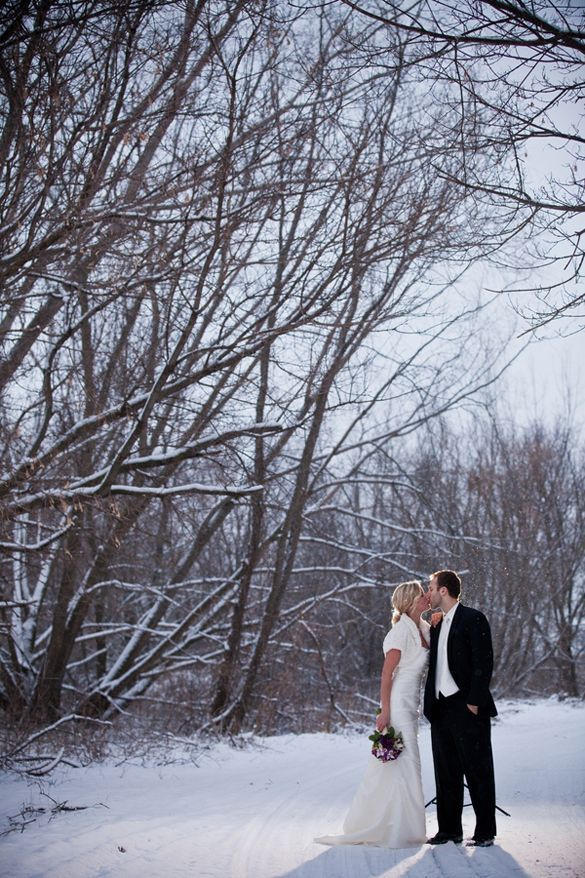 The Secret Laws of Attraction: Winter Wedding Photography Edition! #Love