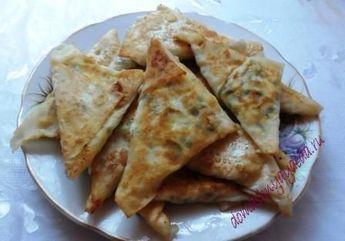 пирожки с творогом и зеленью | Домашняя еда