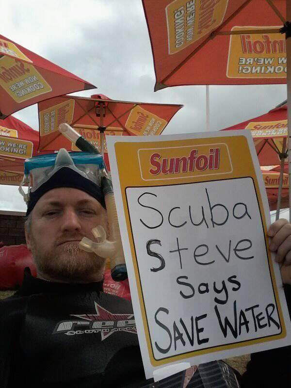 They called me Scuba Steve...