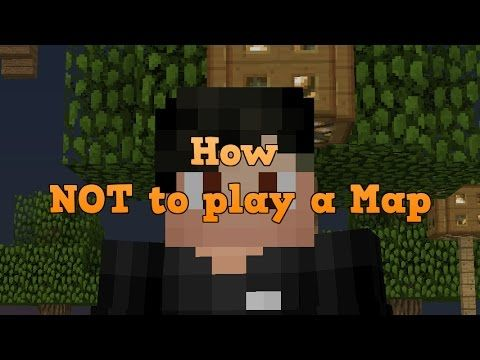 Minecraft Mac - How NOT To Play A Map [41]