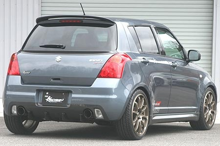 awesome suzuki swift sport tuning by hks photo. Black Bedroom Furniture Sets. Home Design Ideas