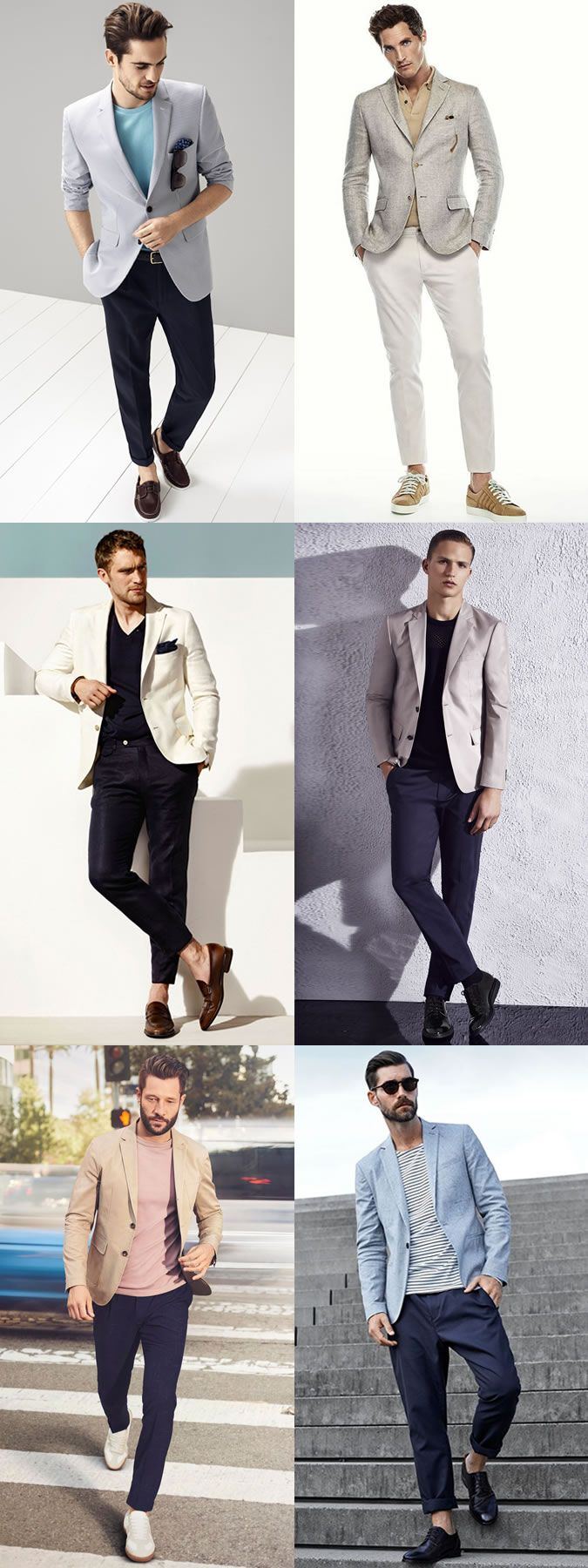 Men's Unstructured Jackets/Blazers With Chinos or Jeans Outfit Inspiration