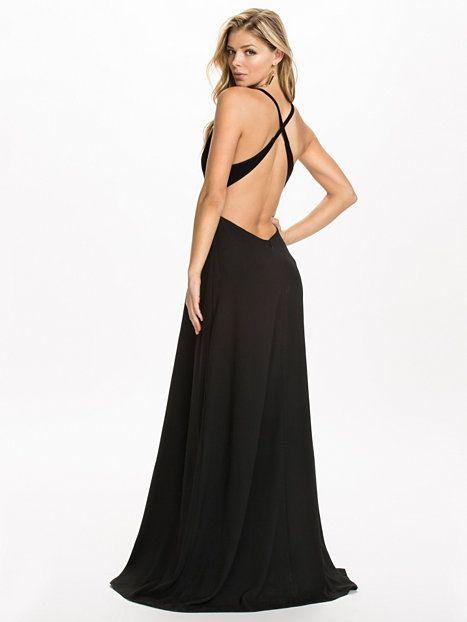 Darby Maxi Dress - Solace London - Zwart - Feestjurken - Kleding - Vrouw - Nelly.com