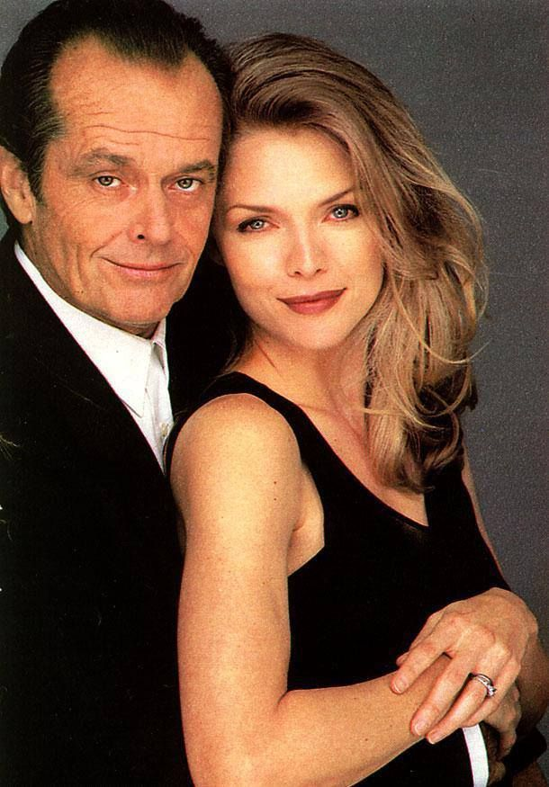 Jack Nicholson and Michelle Pfeiffer