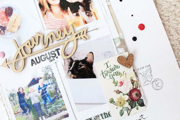 catching up with scrapbooking // Pinned from luciabarabas.com by Lucia Barabas