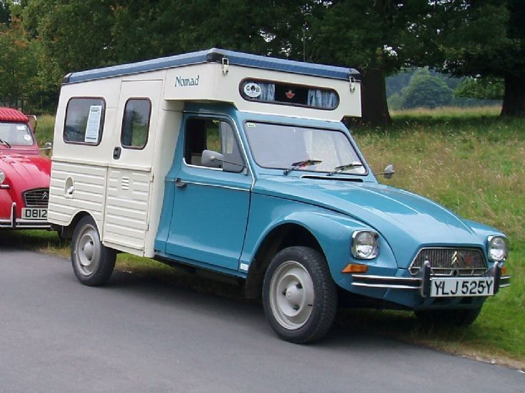 citreon camper rv and campervan photos citroen acadiane nomad camping car unusual. Black Bedroom Furniture Sets. Home Design Ideas