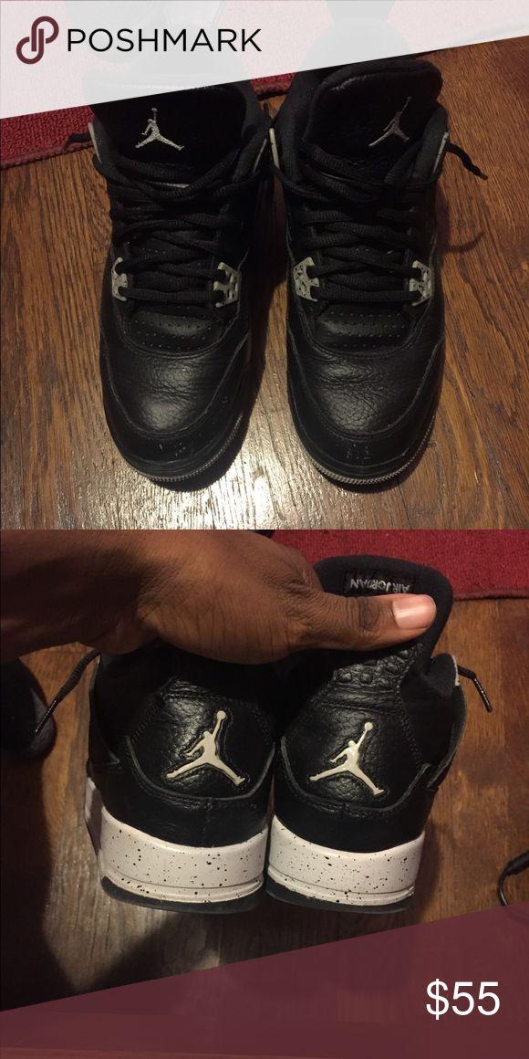 Jordans oreo 4s Oero 4s size 7 Jordan Shoes Sneakers