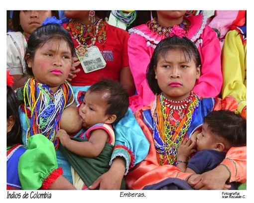 Indios de Colombia. Indios Embera