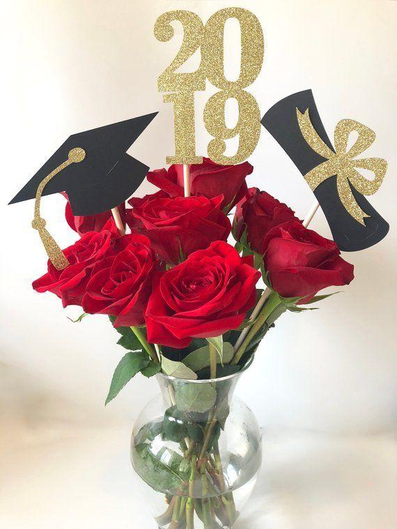 Abschlussfeier Dekorationen 2019 Graduation Centerpiece