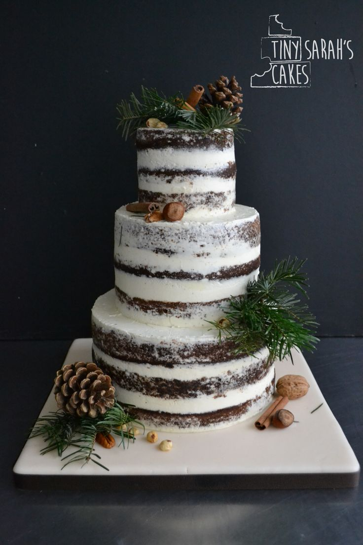 Let them eat cake rustic wedding chic - Let Them Eat Cake Rustic Wedding Chic Wedding Cake Semi Naked Wedding Cake Winter Wedding Download
