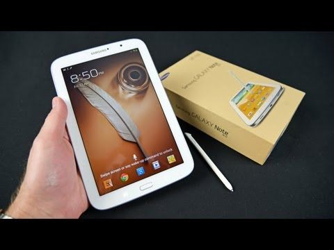 Samsung Galaxy Note 8.0: Unboxing & Review Features 1.6GHz Quad Core Processor 8-inch Display 16 GB Memory, 2 GB RAM microSD Card Slot (Up to 64 GB)802.11 abgn Wi-Fi Android 4.1 Jelly Bean OS802.11 a/b/g/n Wi-Fi