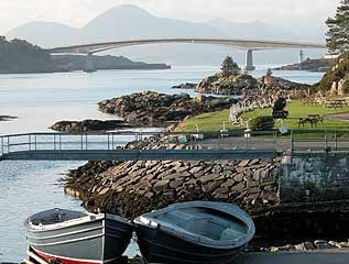 Skye Bridge from Kyle of Lochalsh