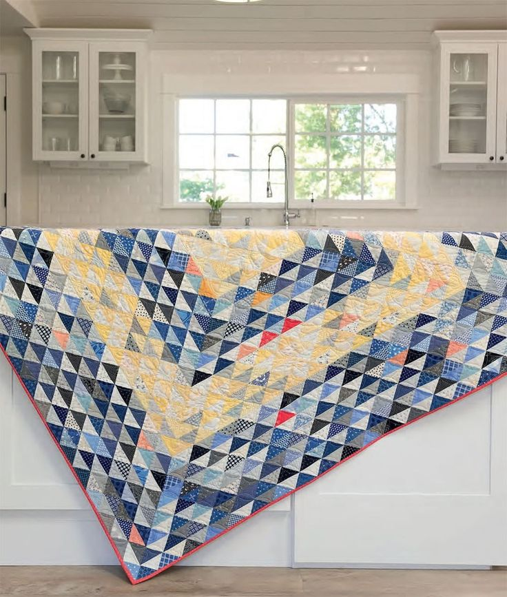 "229 Likes, 11 Comments - Martingale (@martingaletpp) on Instagram: ""Don't we all know a quilter who treasures a great triangle quilt? Tag a quilting buddy who loves a…"""
