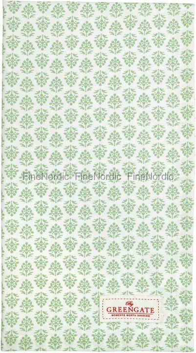 GreenGate Viskestykke - Tea Towel Ashley Green