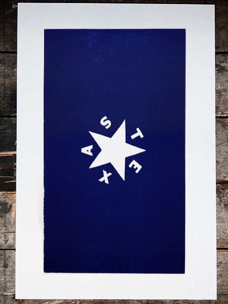 You don't have to tell a Texan what's great about Texas. But one thing I think is just great is the story of their first flag. Lorenzo de Zavala proposed this flag in 1836 at Washington-on-the-Brazos