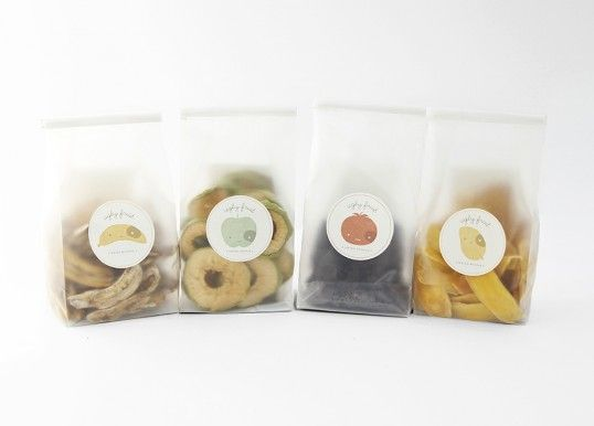 Packaging design for 'Ugly Fruit' dried fruits by Mirim Seo