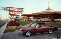 1962 Lincoln-Continental / Lincoln-Mercury Dealership - Clearwater, Florida