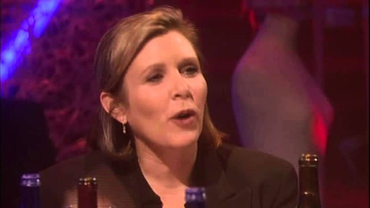 Carrie Fisher tells Ruby Wax and Salman Rushdie how she got her part in ...