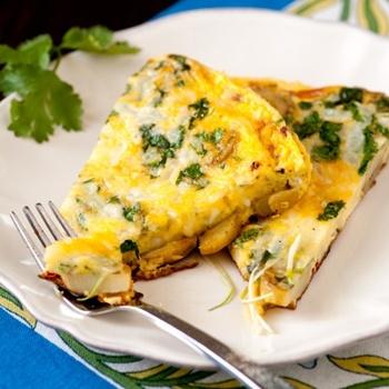 Potato Fritatta With Chipotle (Id put roasted chili relleno instead) YUM!: Chipotle Recipes, Breakfast Brunch Recipes, Food, Potatoes, Potato Fritatta, Egg, Favorite Recipes, Omelette