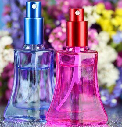 Eigenes Parfum selber mischen - Parfum Rezept: Fruchtiges Parfum mit Himbeerduft