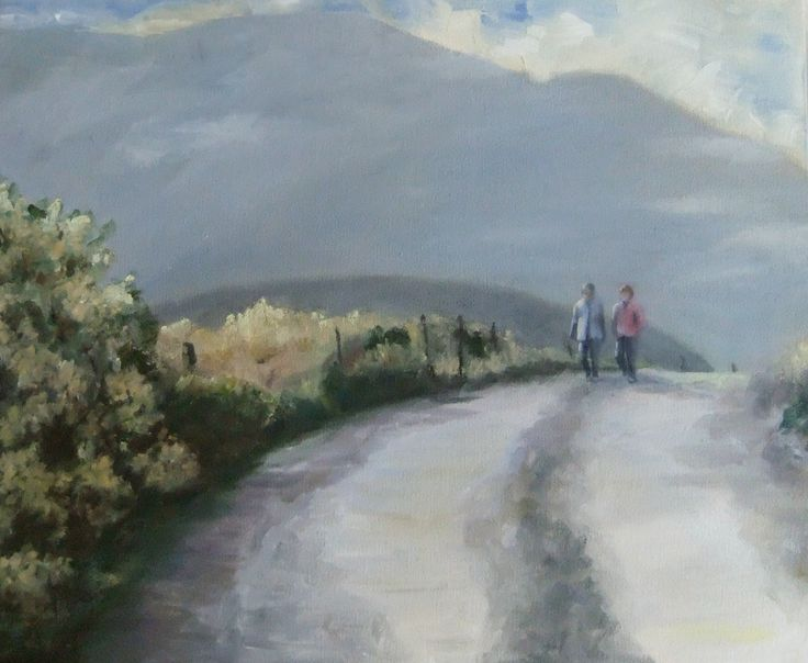 A Little Bit Country- Eliabeth Pearson - oil