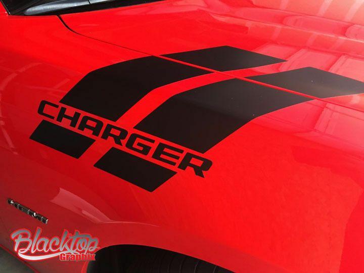 Dodge Charger Hash Stripes 2010 2019 Vinyl Decal Mopar Hemi Scat Pack Rt Sxt Oracalhighperformancevinyl Dodge Charger Scat Pack Mopar