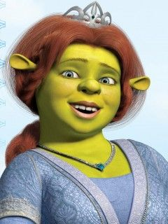 Lmfao!! I swear I've seen the Real life Fiona, (wears similar necklace too) and she called me fat and ugly! THE Audacity!!! I'm just glad she never put her big ass paws on me!!