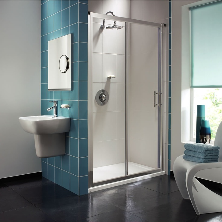 Geo 6 Sliding Door 1000mm Bathroom Reno Ideas