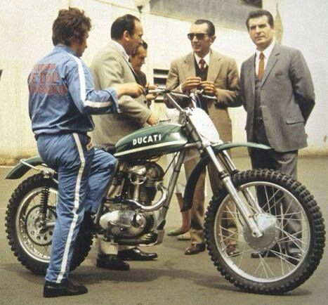 The original Ducati Scrambler in Green.
