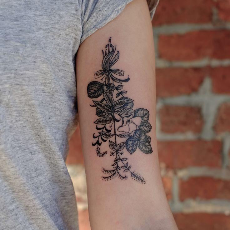 Les 50 plus beaux tatouages fleuris de Pinterest et Instagram   Glamour