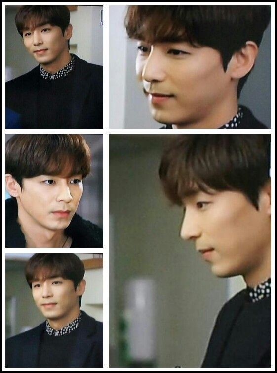 "Jin Yi Han.  Korean drama ""The Family is Coming"""