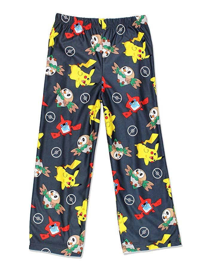 Go on an adventure in these awesome Pokemon boys flannel pajama pants!  These boys pajama bottoms feature your … | Lounge pajamas, Boys flannel  pajamas, Pajama pants