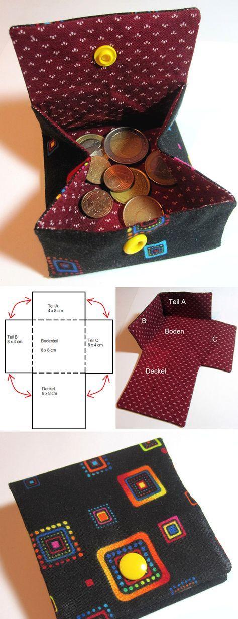 Small Coin Pocket Tutorial