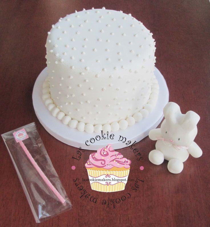 BABY GIRL CAKE- TORTA NENA lascookiemakers@gmail.com