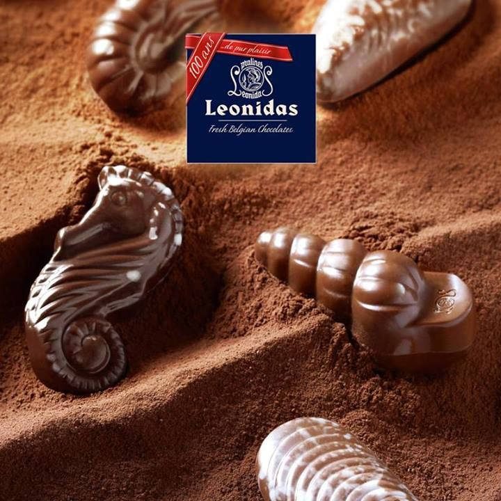 Leonidas Summer Chocolates.