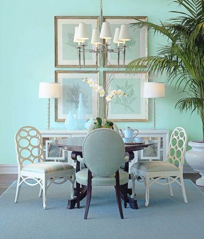 The best blue paint? Benjamin Moore Dolphin's Cove 722