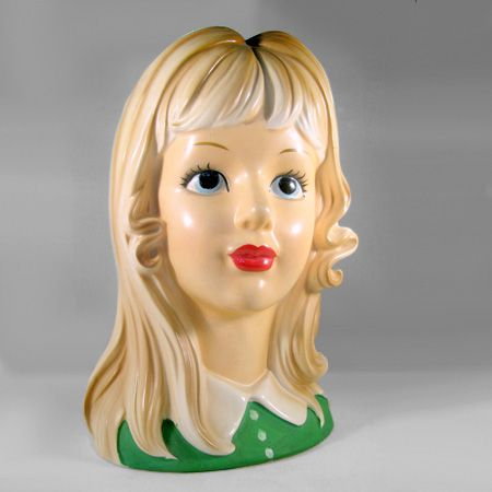 231 Best Vintage Ceramic And Pottery Ladies Heads Images
