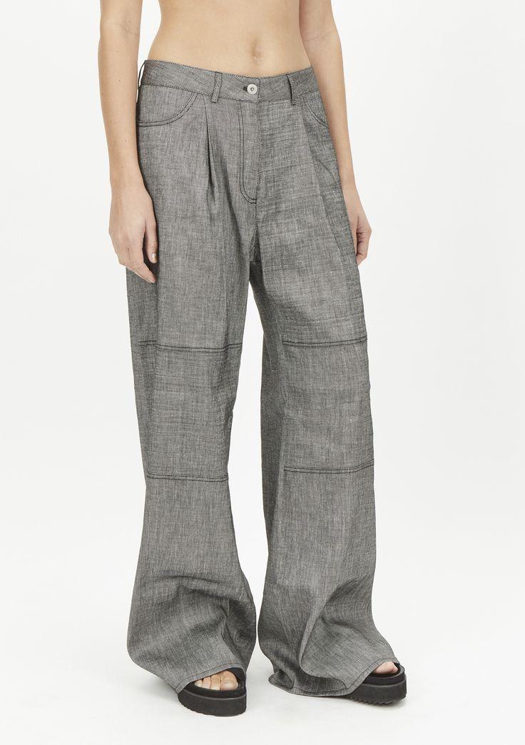 Drop trouser