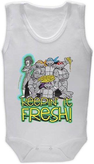 Ninja Kaplumbağalar - Fresh Kendin Tasarla - Bebek Zıbın