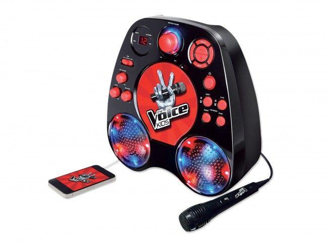 The Voice Kids Karaoke speler Zwart - Karaoke systemen - 123platenspeler.nl