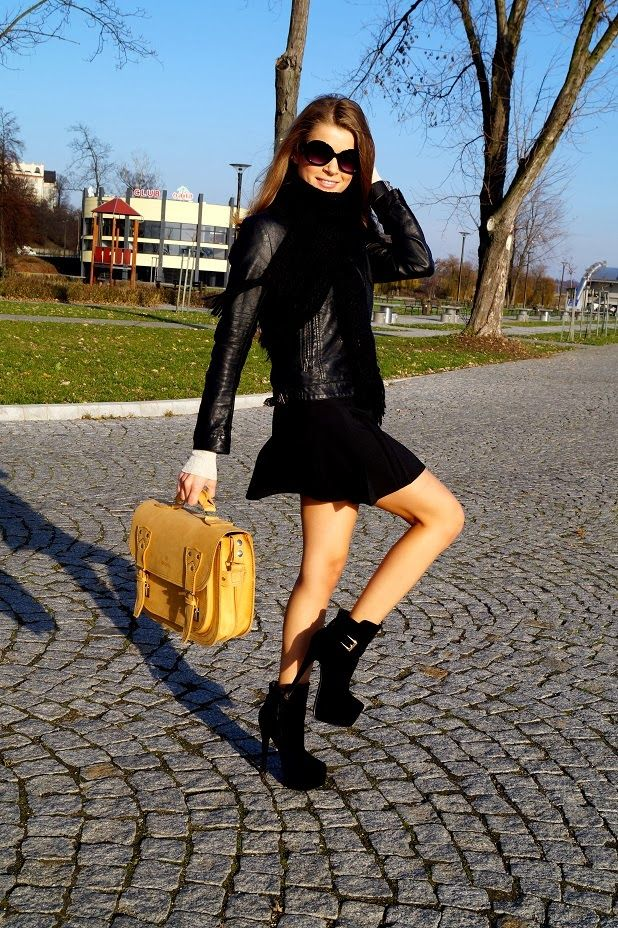 ONLY MY FASHION STYLE: LEATHER BAG