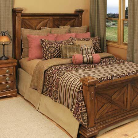 southwestern bedroom | Kilim Southwestern Bedding - Free Shipping!
