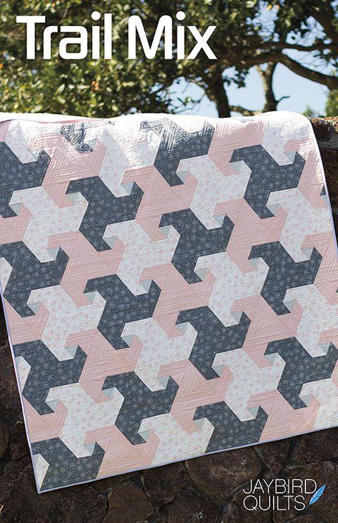 A New Jaybird Quilts Pattern: Trail Mix!