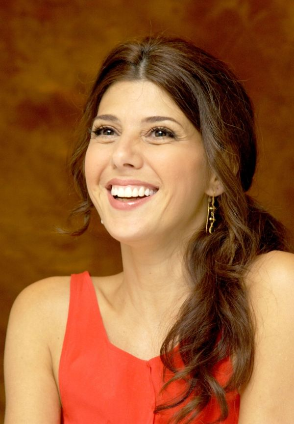 Marisa Tomei. We took acting classes together in L.A. from Kate McGregor-Stewart. Other people were there, too. She was on A DIFFERENT WORLD at the time.
