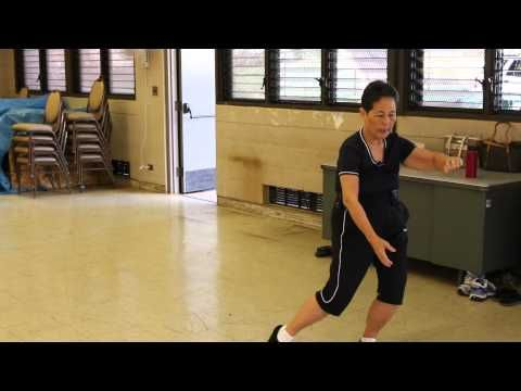 (33) Yang Style Tai Chi 16 Form BACK View + INSTRUCTIONS everydaytaichi lucy chun Honolulu, Hawaii - YouTube
