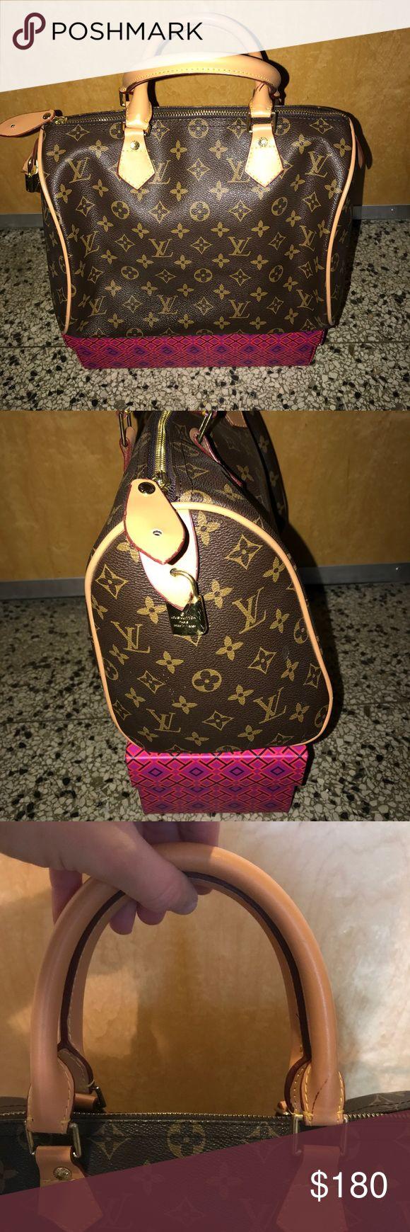 Louis Vuitton speedy handbag Louis Vuitton speedy handbag - used a couple of times - price reflects authenticity** Louis Vuitton Bags Satchels